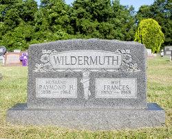 Frances <i>Stropes</i> Wildermuth
