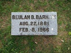 Beulah <i>Bills</i> Barham