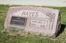Margaret Ann <i>Cossin</i> Hayes