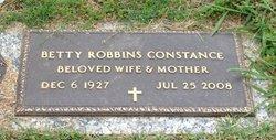 Betty <i>Robbins</i> Constance