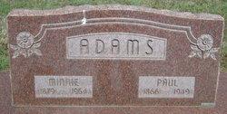 Minnie May <i>Gant</i> Adams