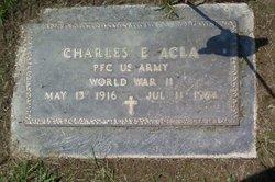 Charles E Acla