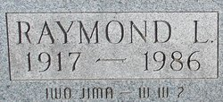 PFC Raymond L Ball