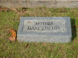 Mary <i>Grooms</i> Lofton