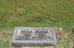 Rhoda <i>Hartsell</i> Beadle