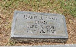 Isabell Somerville <i>Nash</i> Bobo