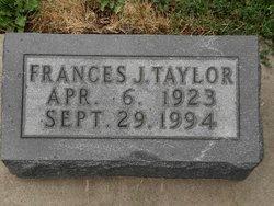 Frances June <i>Steele</i> Taylor