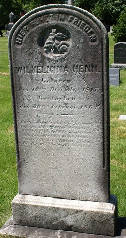 Louisa Wilhelmina Amelia <i>Gehlbach</i> Henn