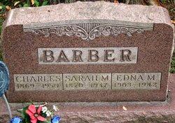 Sarah M <i>Glover</i> Barber