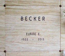 Elaine Elizabeth Becker