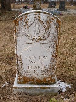 Mary Eliza <i>Wade</i> Beard