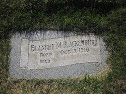 Blanche M Blackenburg