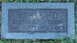 J Edwin Ecklund