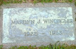 Marilyn Jean <i>Wahl</i> Windbigler