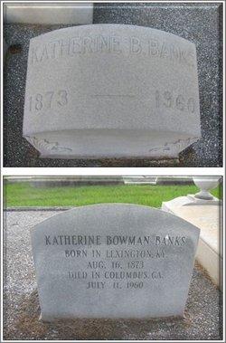 Katherine Reed <i>Bowman</i> Banks