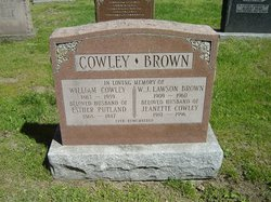 Jeanette <i>Cowley</i> Brown