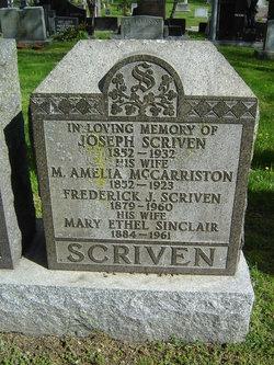 Mary Ethel <i>Sinclair</i> Scriven