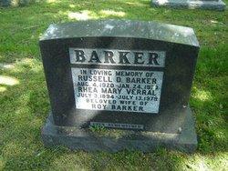 Rhea Mary <i>Verral</i> Barker