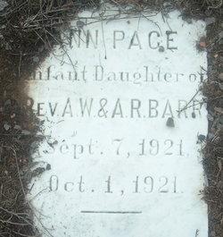 Ann Pace Barr