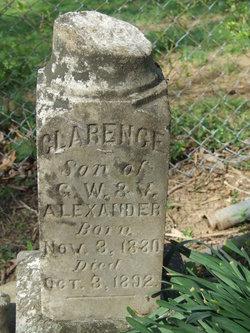Clarence Alexander