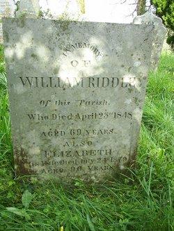 William Riddle