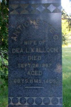 Antoinette C. <i>Payson</i> Kalloch