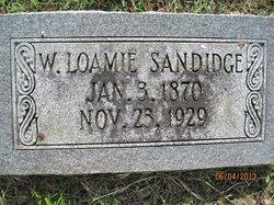 William Loamie Sandidge