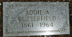 Addie A <i>Wheelock</i> Butterfield
