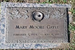 Mary <i>Moore</i> Gayle