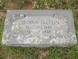 Joanna C <i>Ledgerwood</i> Jacklin