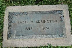 Hazel <i>H.</i> Edrington