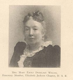 Mary Emily <i>Donelson</i> Wilcox