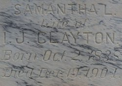 Louisa Samantha <i>Mulkey</i> Clayton