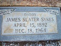James Slater Sykes