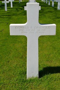 PFC Donald S Drievold