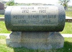 Nellie B <i>Reed</i> Weaver