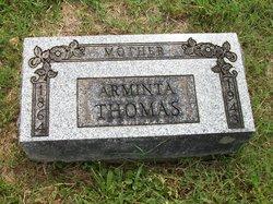 Arminta Jane <i>Edwards</i> Thomas