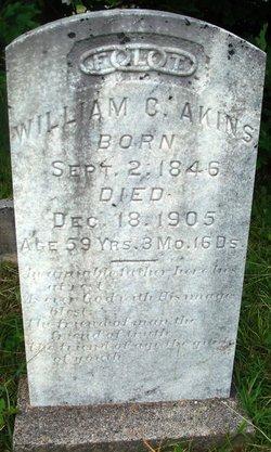 William C Akins