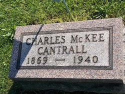 Rev Charles McKee Cantrall