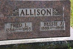 Bessie J. <i>Howard</i> Allison