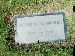 Cecille May Scrimshire