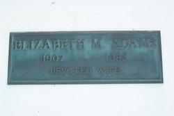 Elizabeth M <i>Best</i> Adams
