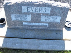 Clara Melvina <i>Higginbotham</i> Evers