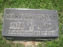 Mary <i>Pfleger</i> Langmeyer