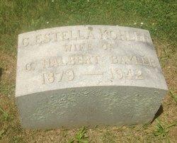C. Estella <i>Kohler</i> Bayler