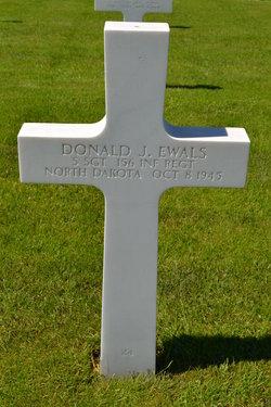 Sgt Donald J Ewals