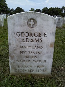 PFC George E Adams