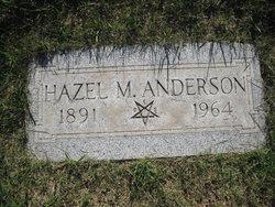 Hazel May <i>Canady</i> Anderson