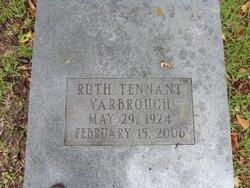 Ruth <i>Tennant</i> Yarbrough