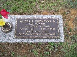 Capt Walter Pierce Thompson, Sr